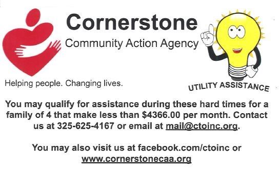 Cornerstone Assistance Information